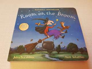 Children's Story Book - Room on the Broom by Julia Donaldson