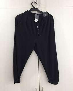 New Cotton On black studio jogger pants