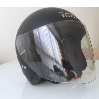 NEW helmet R-TEC black