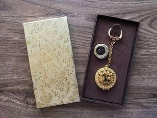 Vintage Unicorn Keychain