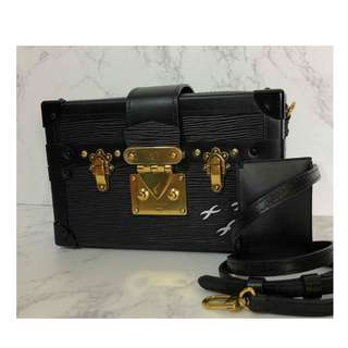Authentic Louis Vuitton Petite Malle Epi Leather