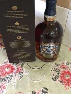 Chivas regal 18 1 litres whisky