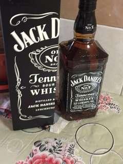 Jack Daniels 1 litres whisky