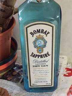 Bombay sapphire 1 litres sealed