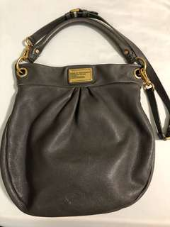 EUC Authentic MARC BY MARC JACOBS Classic Q Hiller bag in dark grey