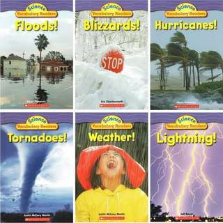 Scholastic Science Vocabulary Readers: Wild Weather (6 books)