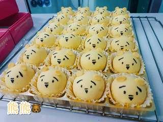 Teddy Bear Shanghai Mooncake