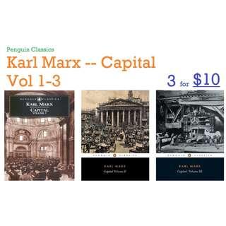 ebook: Capital: A Critique of Political Economy, Vol 1 to 3 (Penguin Classics)