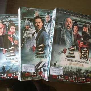 3 Kingdoms DVDs