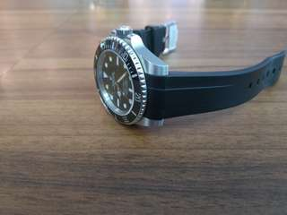Watch Rubber Strap for rolex submariner
