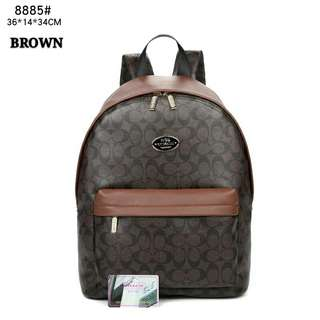 Coach Backpack Brown