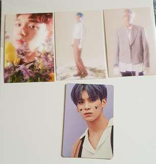 WTS CBX and SF9 photocards