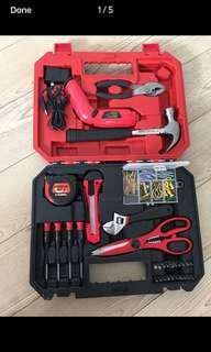 Tempest Cordless Drill screwdriver Driver tool set Project Kit