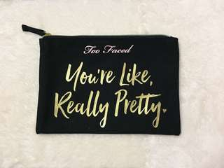 🚚 Too Faced Pouch