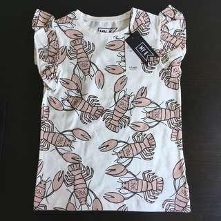 [readystock] Mothercare MY K girls frill tshirt