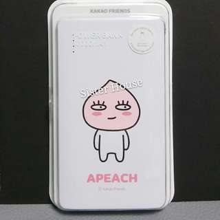 (現貨)🇰🇷Kakao Friends Apeach Power Bank 10000mAh 充電器