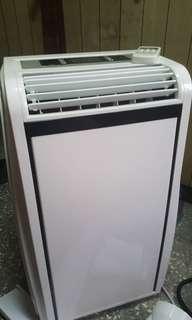 5坪冷暖清淨除濕移動式空調10000BTU