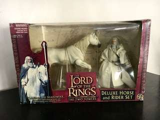 Gandalf LOTR Deluxe Horse and Rider Set