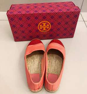 Tory Burch Hot Coral/Vermillion 653