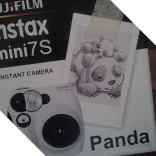 Fujifilm Instax Mini 7S Instant Film Camera (Panda)