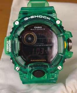 G shock frogman gw9400 rangeman seiko iwc watch 手錶 男裝電波