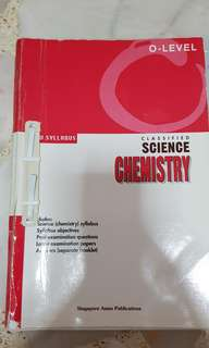 O level classified science chemistry
