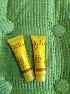 Belo Sunexpert face and body sunscreen
