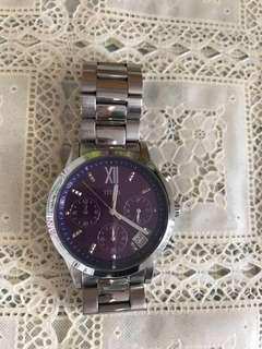 95% New TITUS 紫色錶面Watch (罕有)