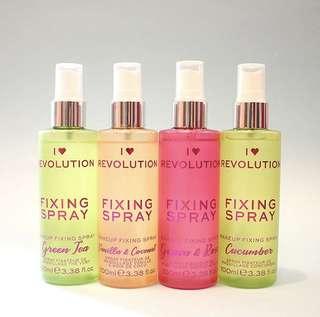 🚚 Setting / Fixing Spray by I Heart Revolution
