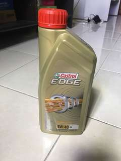 Engine Oil - Castrol Edge 5w40 Fully Synthetic
