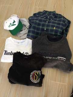 Men's clothing bundle size small