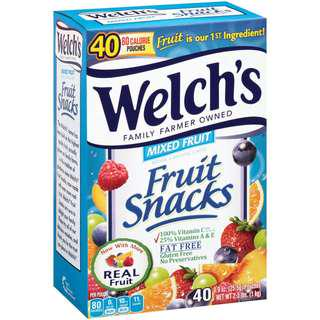 Welch Fruit Snacks Mixed Fruits