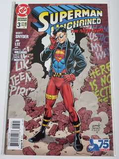 Superman Unchained #3 variant cover