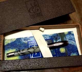 梵高系列水筆 (有盒)