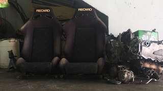 Keiper Recaro LeMans Batik seat type 560012 original 1 set