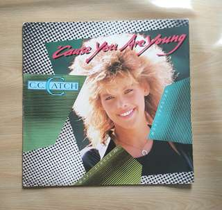 Cause You Are Young - C.C. Catch ( 12'Single Vinyl Record)