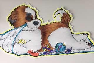 🚚 Traditional pet fullbody cartoon portrait