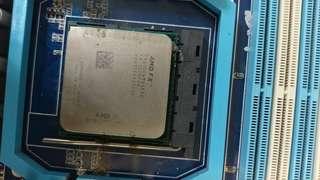 🚚 送咖啡 78LMT USB3 主機板 AMD FX 6100 3.3G 處理器 AM3+ 非 I7 I5 華碩 微星