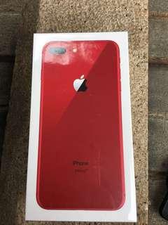 IPhone 8 Plus 64 red