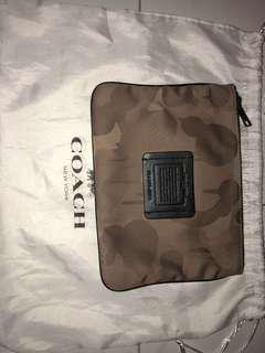 coach pouch bag original authentic