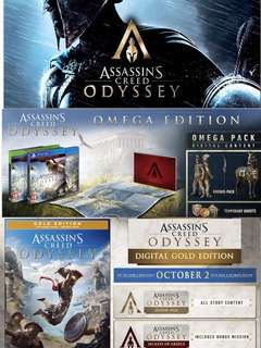 PS4 ASSASSIN CREED ODYSSEY (R3/ENG)