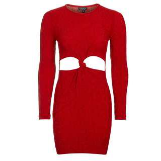 Brand New Topshop Red Dress