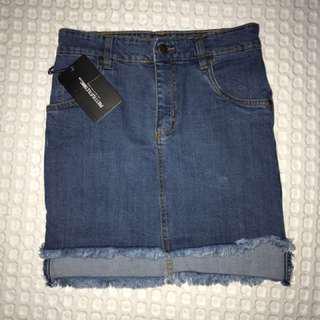 Pretty little thing denim skirt