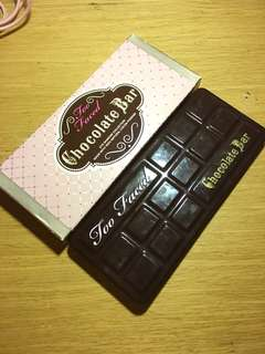 Too Faced Chocolate Bar Eyeshadow Palette Preloved