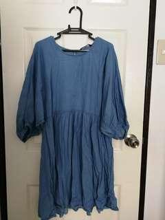 ForMe Soft Denim Summer Dress