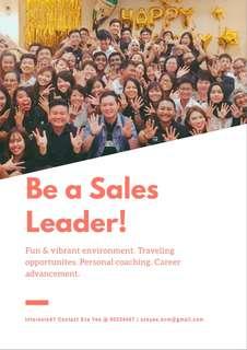 Sales Leader *NO EXP NEEDED*