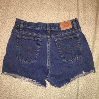 Levi's High-Waisted Shorts