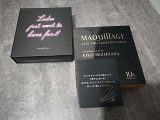 Maquillage lady collaboration book