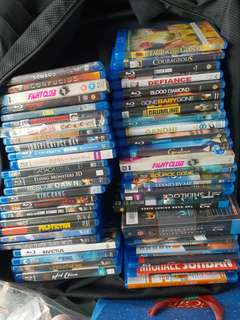 Bluray movies clearance. Super condition.
