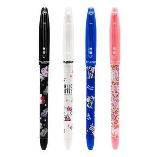 Platimum Japan Sanrio Hello Kitty 0.5 Black Gel Pen & Pen Set